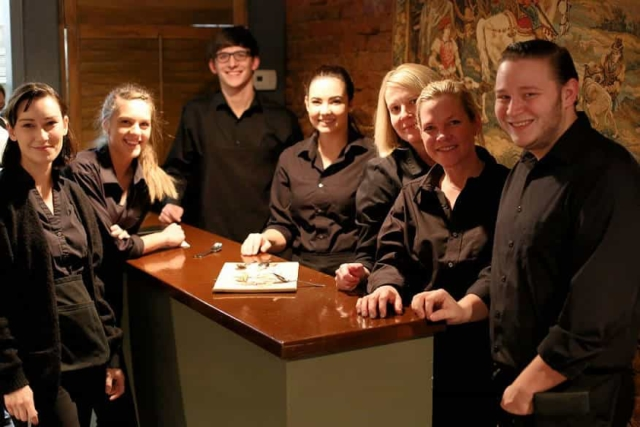 Staff at Cyra's restaurant in downtown Dalton GA, rated top best restaurant near me