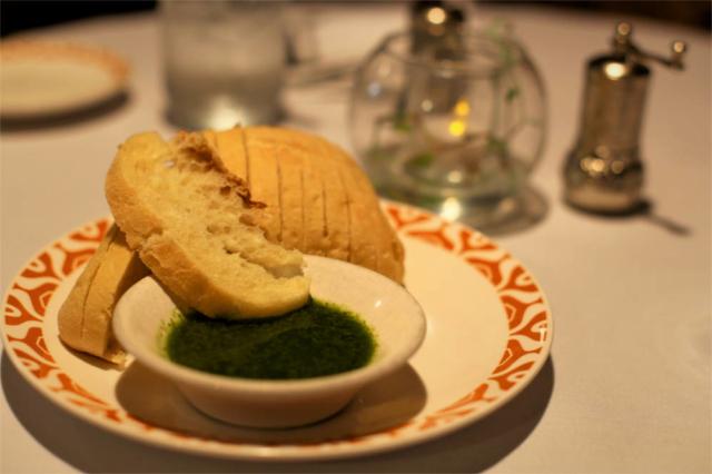 Bread and Basil lemon dip at  Cyra's restaurant in downtown Dalton GA, rated top best restaurant near me