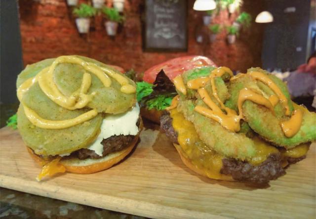 Avocado Cali Burger at Cyra's restaurant in Dalton ga near me best