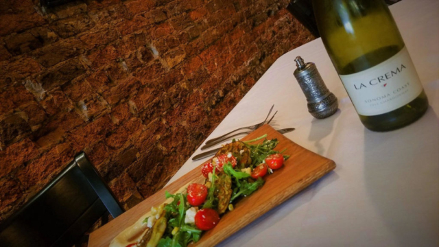 Summer Salad at Cyra's restaurant in downtown Dalton, rated top best restaurant near me